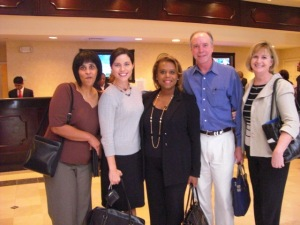 Desiree Allen, Stephanie Nye, Judge Deadra Jefferson, Judge Michael Baxley, Ellen Osborne