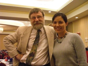 Richard Zorza, self-represented litigant guru, and Stephanie Nye