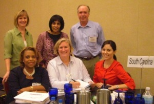South Carolina Delegation at the Court Solutions Conference in Baltimore (Sept. 2008)