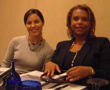 Stephanie Nye and Judge Jefferson at the Conference