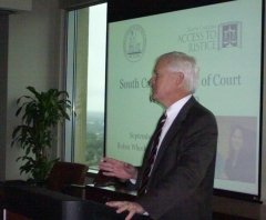 Dean Wilcox discusses ethics