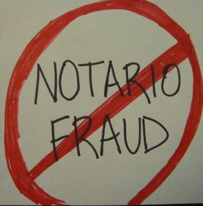Say No to NOTARIO FRAUD