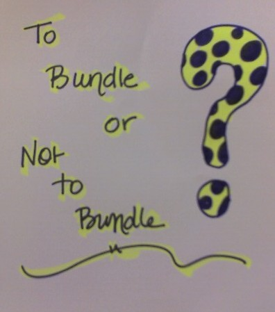 To Bundle or Not To Bundle