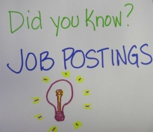 Did You Know? Job Postings