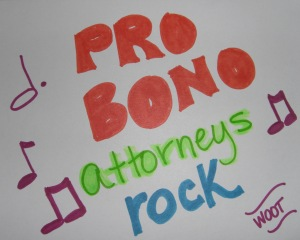 Pro Bono Attorneys ROCK