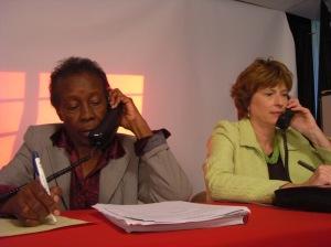 Edna Primus and Tana Vanderbilt field questions