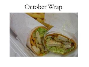October Wrap